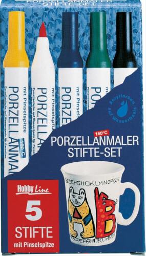 Hobby Line Hobby Line Porcelain PEAN easy 5er Set