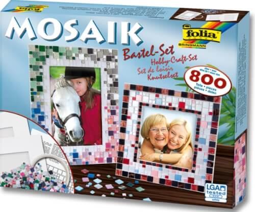 Folia - Mosaik Bastel-Set ca. 800 Teile