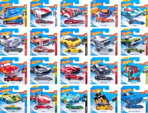 Mattel Hot Wheels Serie 1:64, sortiert
