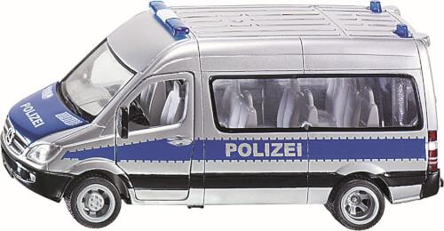 SIKU 2313 SUPER - Polizei Mannschaftswagen, 1:50, ab 3 Jahre