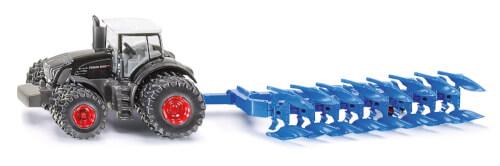 SIKU 1862 FARMER - Traktor mit Pflug, 1:87, ab 3 Jahre