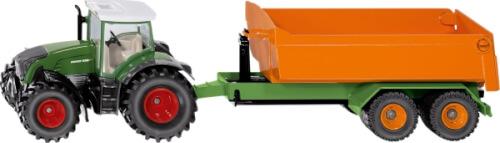 SIKU 1989 FARMER - Fendt mit Hakenliftfahrgestellt und Mulde, 1:50, ab 3 Jahre