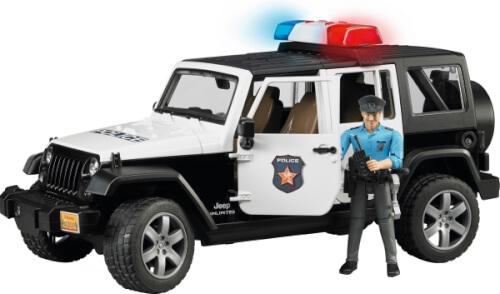 Bruder 02526 Jeep Wrangler UR Polizei