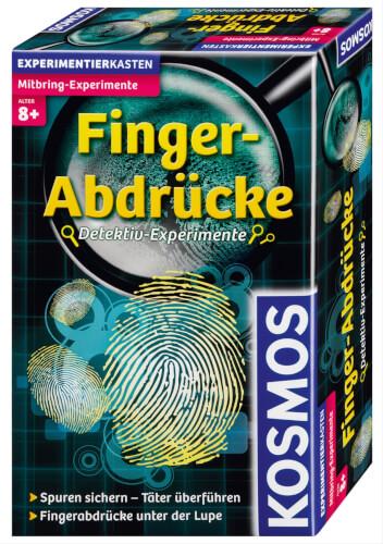 Kosmos Mitbringexperiment Finger-Abdrücke