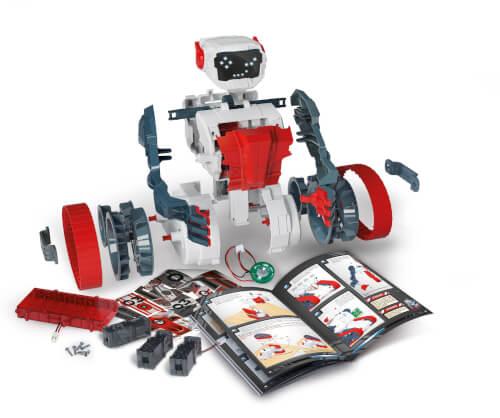 Clementoni - Evolution Roboter, Kunststoff, ab 8 Jahre
