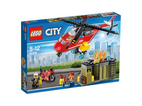 LEGO® City 60108 Feuerwehr-Löscheinheit, 257 Teile