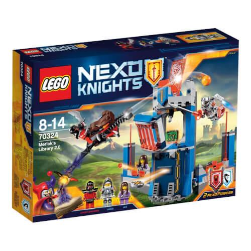 LEGO® Nexo Knights 70324 Merlocks Bücherei 2.0