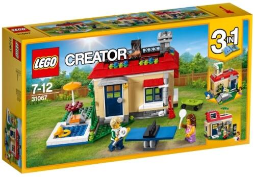 LEGO® Creator 31067 Ferien am Pool, 356 Teile