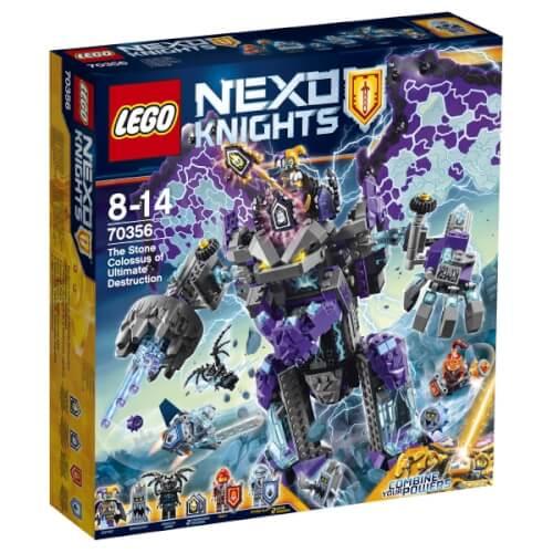 Lego Nexo Knights 70356 Der Stürmische Steinkoloss 70356 Jetzt