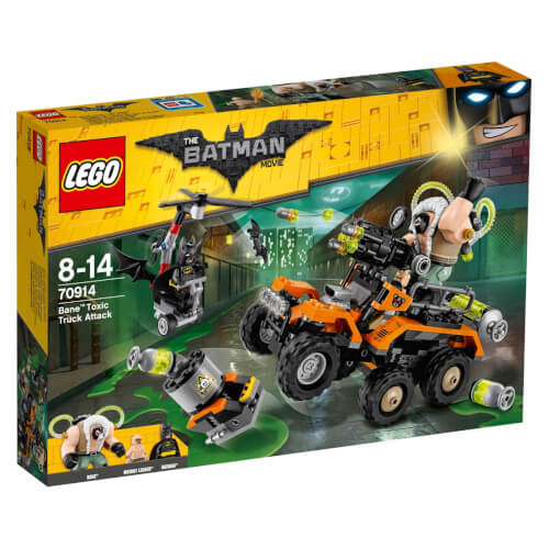 The LEGO® Batman Movie - 70914 Der Gifttruck von Bane, 366 Teile