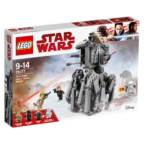 LEGO® Star Wars 75177 First Order Heavy Scout Walker, 554 Teile