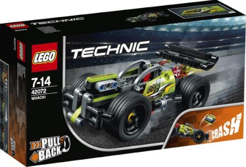LEGO® Technic 42072 ZACK!, 135 Teile