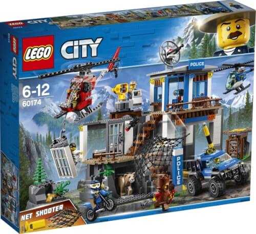 LEGO® City 60174 Hauptquartier der Bergpolizei, 663 Teile, ab 6 Jahre