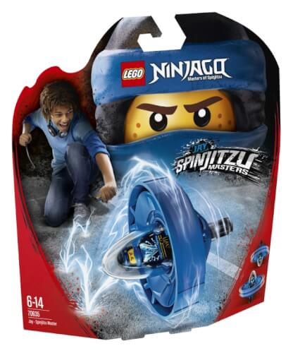 THE LEGO® NINJAGO® Movie - 70635 Spinjitzu-Meister Jay, 68 Teile