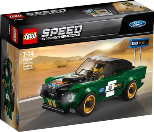 LEGO® Speed Champions 75884 - 1968 Ford Mustang Fastback, 183 Teile