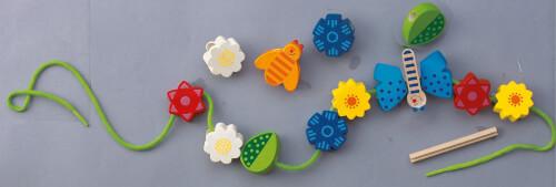 HABA Bambini Perlen Blumen