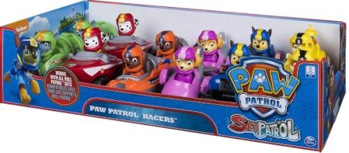 Details zu Spin Master Paw Patrol Rescue Racers, Kunststoff, ca. 11x6x8 cm, ab 3 Jahre, sor