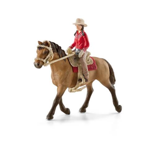 Schleich Horse Club - 42112 Westernreiterin, ab 3 Jahre