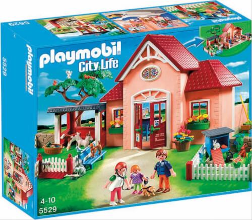 Playmobil 5529 Tierarztpraxis mit Gehegen