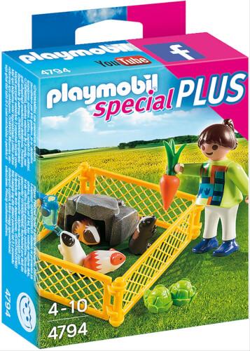 Playmobil 4794 Mädchen mit Meerschweinchen