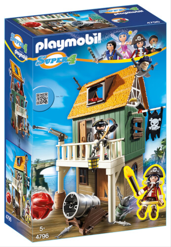 Playmobil 4796 Getarnte Piratenfestung mit Ruby
