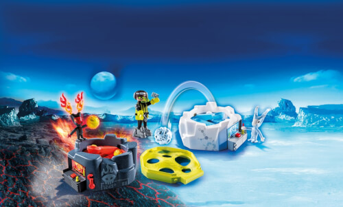 Playmobil 6831 Fire Ice Action Game