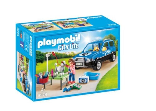 Playmobil 9278 Mobiler Hundesalon