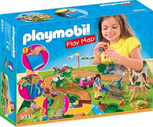 Playmobil 9331 Play Map Ponyausflug