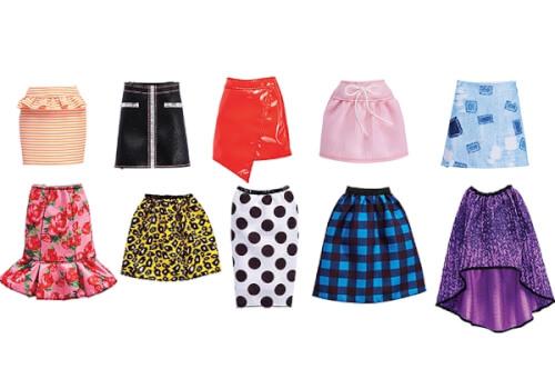 Mattel Barbie - Mode Röcke, sortiert