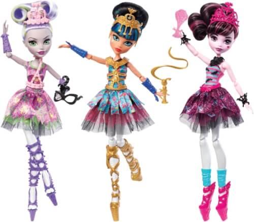 Mattel Monster High Ballerina Monsterfreundinnen Puppe Sortiert FKP60 Jetzt Kaufen
