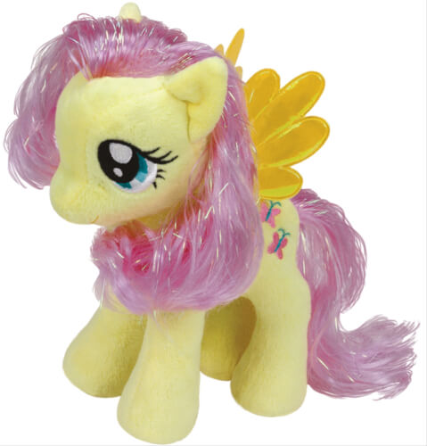 Ty My Little Pony Plüsch Baby-Fluttershy, ca. 15 cm
