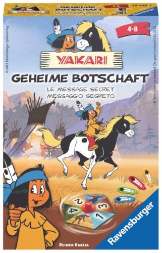 Ravensburger 233403  Yakari Geheime Botschaft Mitbringspiel