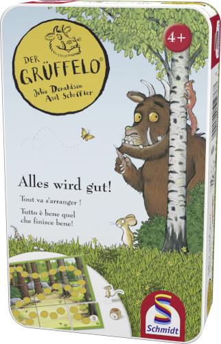 Schmidt Spiele Der Grüffelo, Alles wird gut Mitbringspiel in der Matalldose