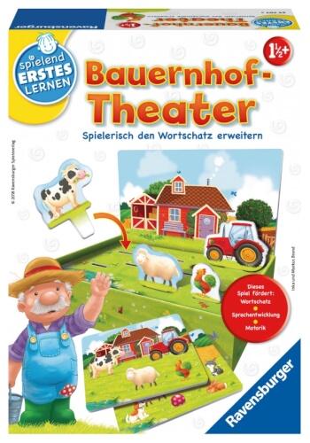 Ravensburger 247073 Bauernhof-Theater, Lernspiel