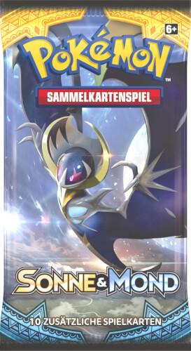 Pokemon USA  Pokémon Sonne & Mond 01 Booster
