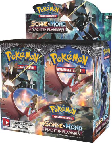 Pokemon USA  Pokémon Sonne & Mond 03 Booster