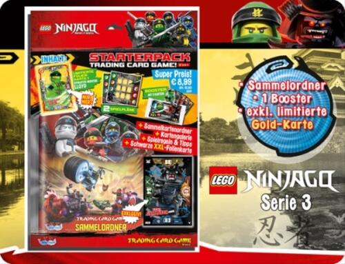 LEGO Ninjago 3 Starter Album