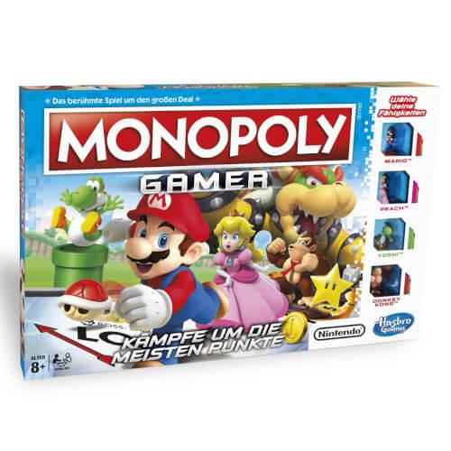 Hasbro C1815100 Monopoly Gamer, für 2-4 Spieler, ab 8 Jahren