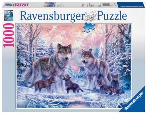 Ravensburger 19146 Puzzle Arktische Wölfe 1000 Teile