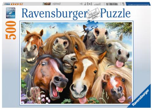 Ravensburger 147632 Puzzle Pferde Selfie 500 Teile