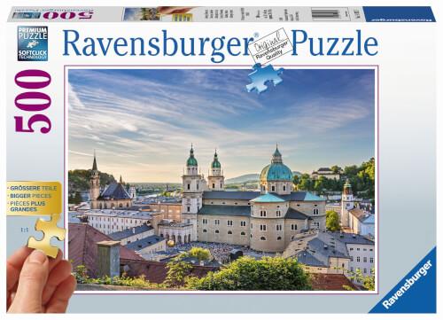Ravensburger 14982 Puzzle: Salzburg / Österreich 500 Teile