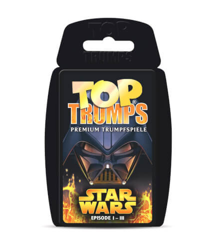 Winning Moves Top Trumps Star Wars Episode I-III