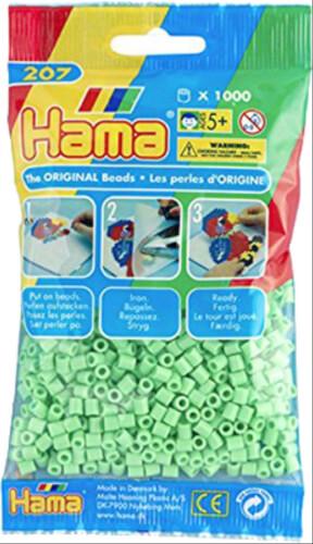 Basteln & Kreativität Hama 1000 Perlen weiß transparent 207-19