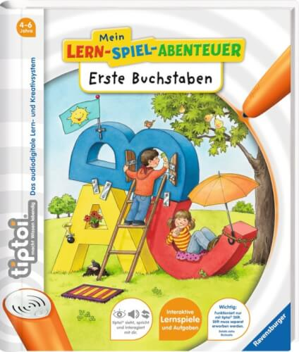 Ravensburger 6090 tiptoi® - Mein LernSpielAbenteuer: Erste Buchstaben
