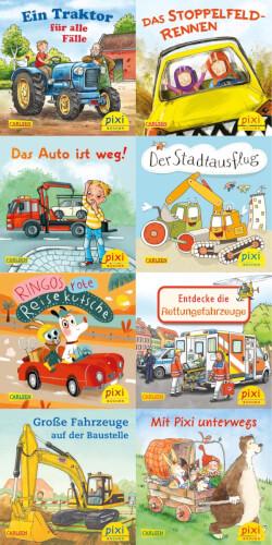 Pixi Serie Nr. 247: Pixis bunte Fahrzeuge