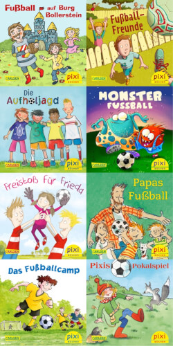 Pixi Box (Serie) - Nr. 252: Fußball-Spaß mit Pixi, Broschüre, jew. 24 Seiten, ab 3 Jahre