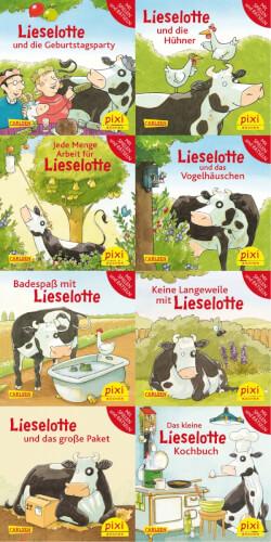 Pixi Box (Serie) - Nr. 251: Lieselotte, Taschenbuch, jew. 24 Seiten, ab 3 Jahre