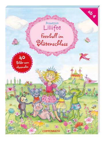 Prinzessinlillifee Feenball Im Blütenschloss 40 Ausmalbilder