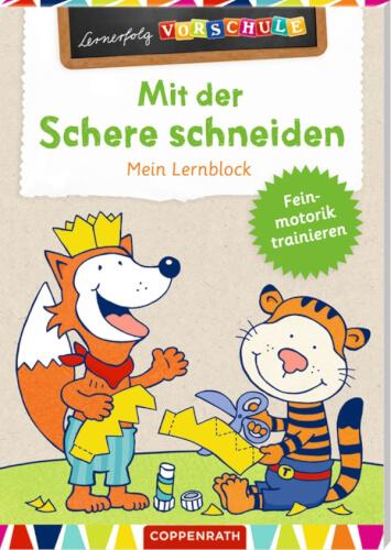 Lernerfolg Vorschule Mit Der Schere Schneiden Lernblock 66908