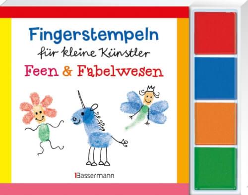 Fingerstempeln für kleine Künstler-Set